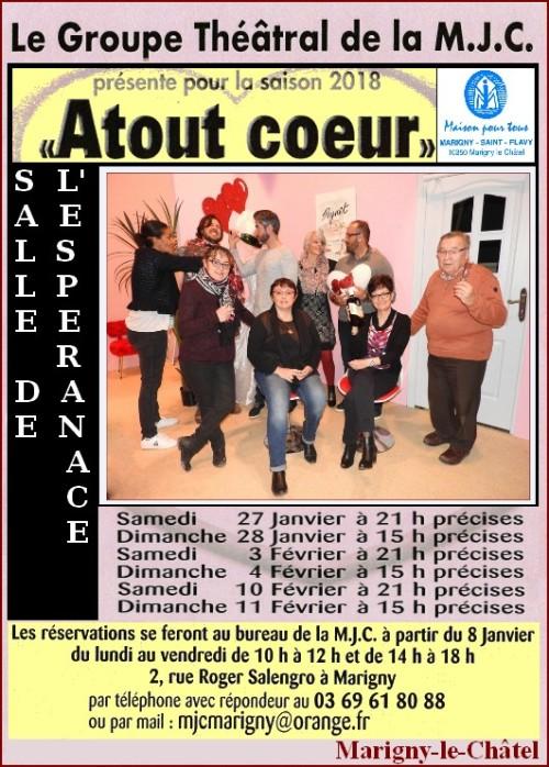 Aff théâtre Marigny 2018
