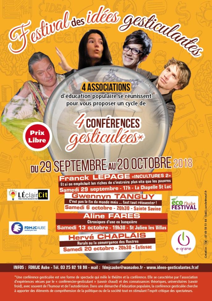 Flyer Conférences