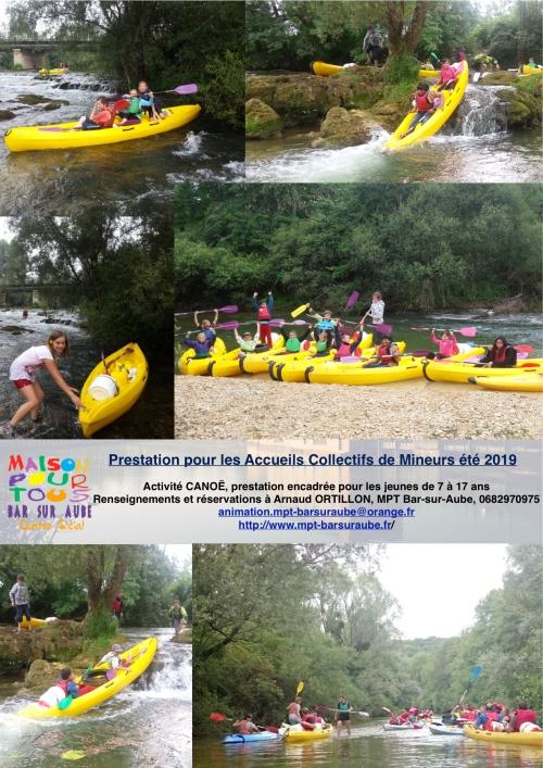 canoë ACM 2019